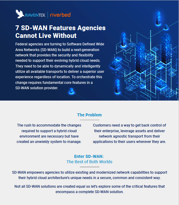 7 SD-WAN Features Agencies  Cannot Live Without