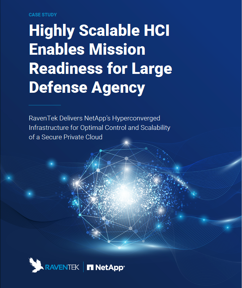 Highly Scalable HCI Enables Mission Readiness for Large Defense Agency