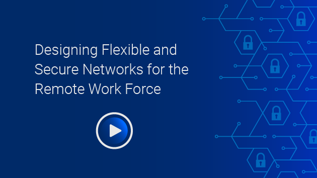 Designing Flexible and Secure Networks for the Remote Work Force